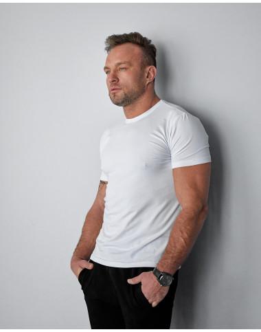 Базова чоловіча футболка білого кольору