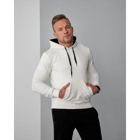Чоловіче худі білого кольору (весна) 2102